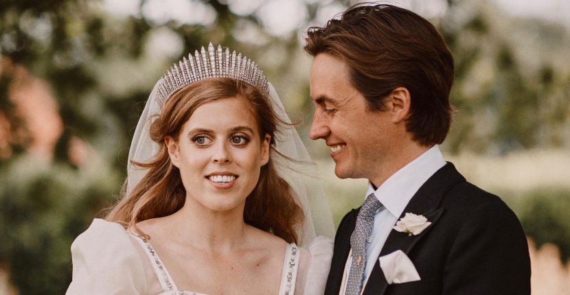 The Adventurine Posts See Princess Beatrice's Diamond Wedding Band
