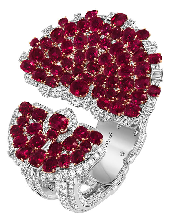 Rubis en Scène Bracelet by Van Cleef & Arpels Photo courtesy