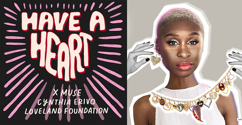 The Adventurine Posts Cynthia Erivo Joins Have A Heart x Muse