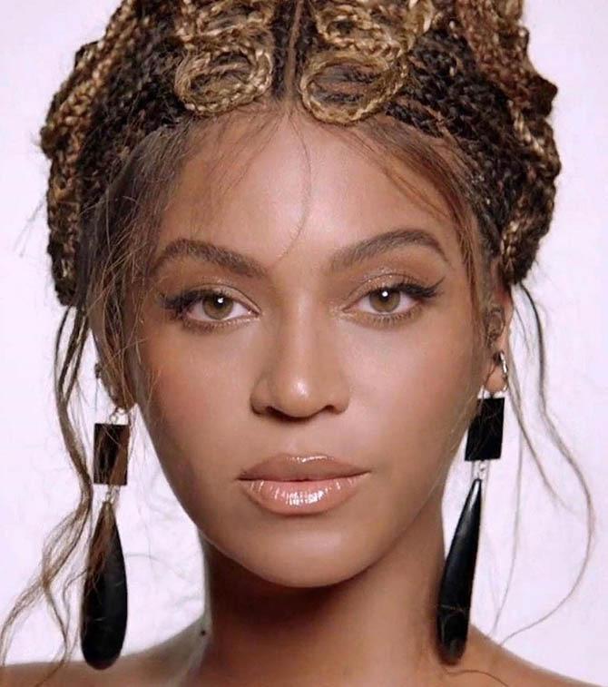 Mona Assemi earrings on Beyonce in Black Is King