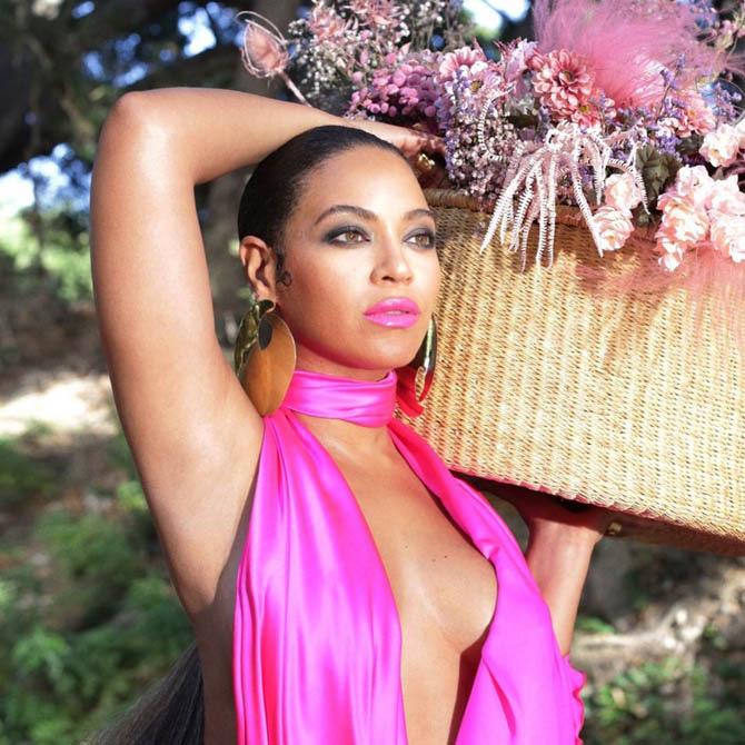 Palette Earring by Lorraine West on Beyonce in Black Is King