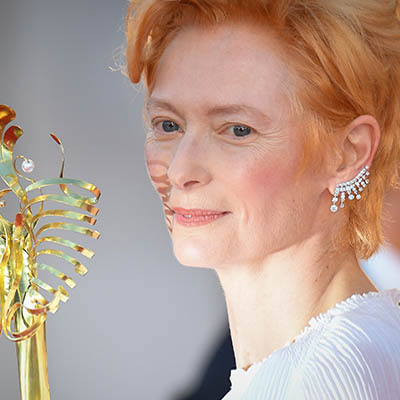The Adventurine Posts The Cool Jewels Tilda Swinton Wore in Venice