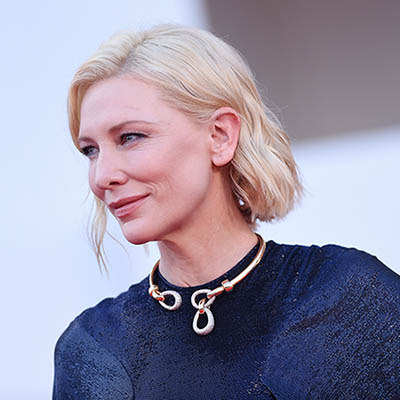 The Adventurine Posts Cate Blanchett Wears Italian Jewels in Venice