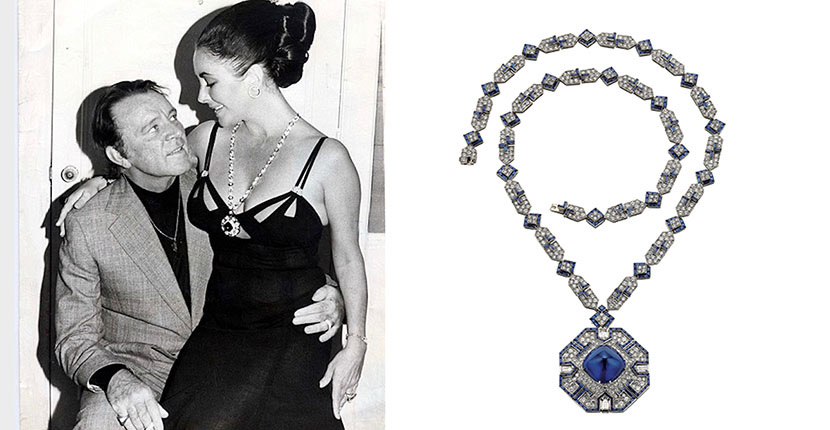 The Adventurine Posts Elizabeth Taylor's Bulgari Sapphire Is in Brooklyn