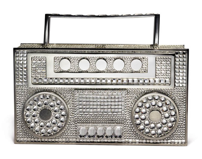 Judith Leiber Boombox for Hip Hop auction at Sotheby's