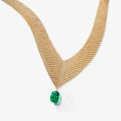 The Adventurine Posts Tiffany Launches One-of-a-Kind Elsa Peretti Mesh