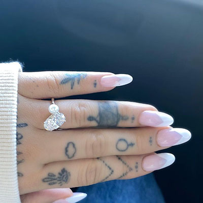 The Adventurine Posts Let's Talk About Ariana Grande's Engagement Ring