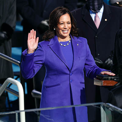 The Adventurine Posts Kamala Harris's Inaugural Pearl Necklace