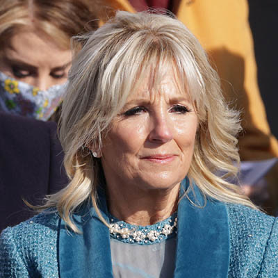 The Adventurine Posts First Lady Dr. Jill Biden's Earrings