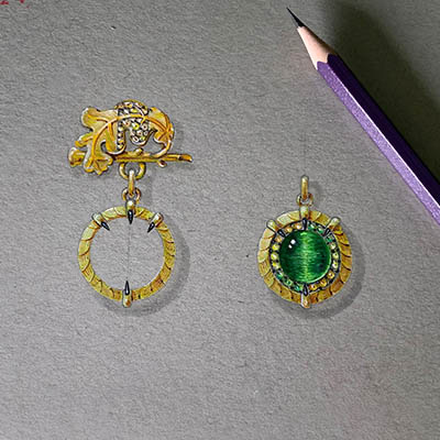 The Adventurine Posts Diary of the Making of a David Michael Jewel