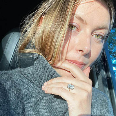 The Adventurine Posts Details of Maria Sharapova's Engagement Ring