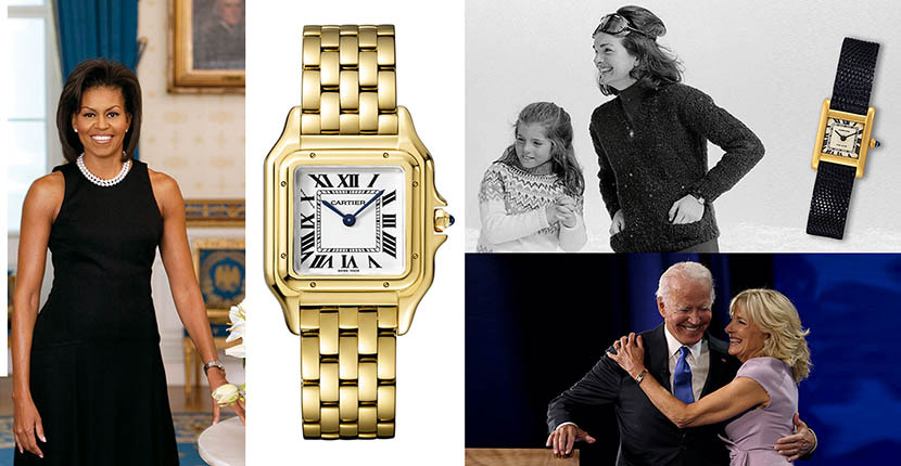 The Adventurine Posts The Cartier Watches of First Ladies