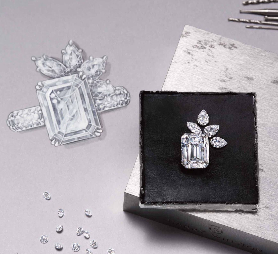 The Adventurine Posts Harry Winston's Dreamy Engagement Rings