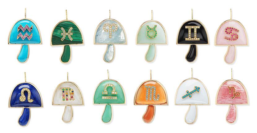 The AdventurinePostsBrent Neale's Zodiac Mushrooms Are Magical