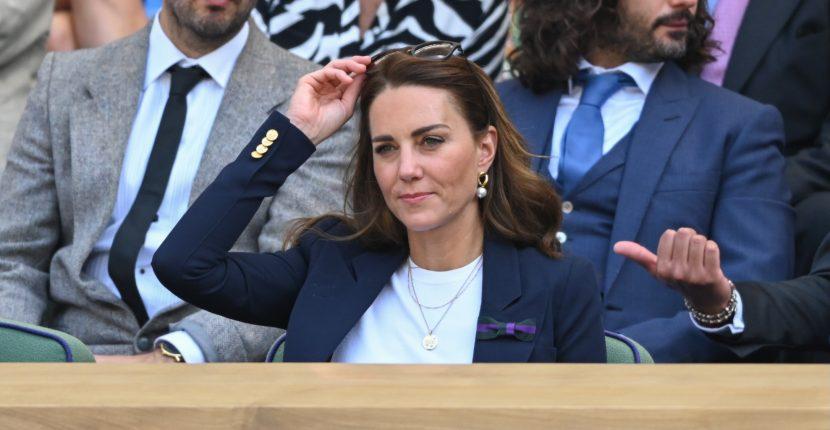 The AdventurinePostsKate Middleton's Casual Cool Wimbledon Jewels