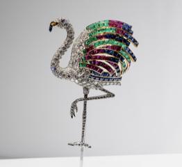 The AdventurinePostsThe Duchess of Windsor's Flamingo Brooch