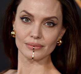 The AdventurinePostsWhat Is Angelina Jolie Wearing on Her Chin?